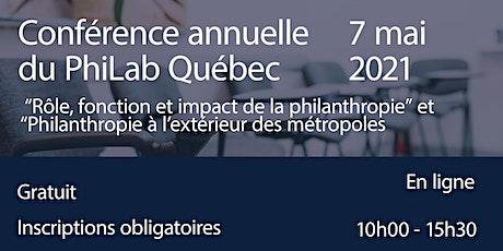 Conférence annuelle 2021 du PhiLab Québec billets