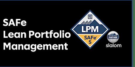SAFe - Lean Portfolio Management tickets