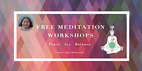 Sahaja Yoga Meditation Workshop (Beginner Level) tickets