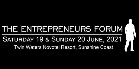 Entrepreneurs Forum 2021 tickets