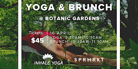 Yoga & Brunch at Botanic Gardens tickets