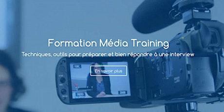 Formation Média Training en visio billets