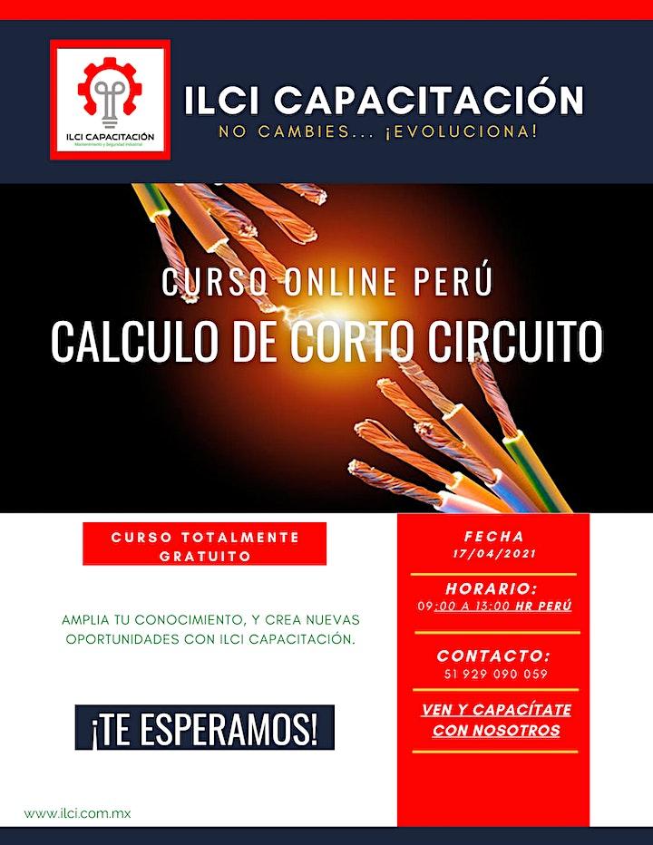 """Imagen de Curso Gratuito Perú """"Cálculo de Corto Circuito"""""""