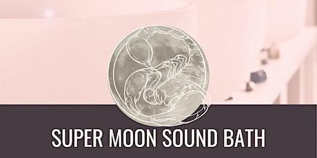 April 26th Super Moon Guided Ritual + Sound Bath tickets