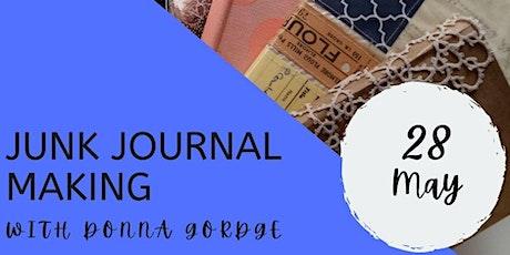 Make a Junk Journal with Donna Gordge tickets
