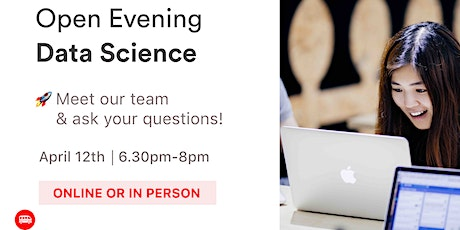 [REMOTE OR IN PERSON] Open Evening: Le Wagon Data Science Bootcamp tickets