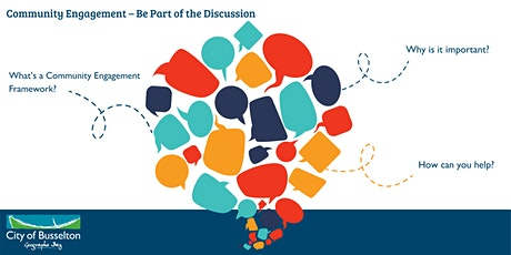 Community Engagement - Be Part of the Discussion | Busselton PM tickets
