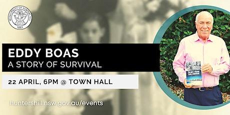 Town Hall Talk: Eddy Boas tickets