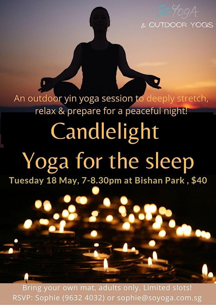 Candlelight Yoga for the Sleep image