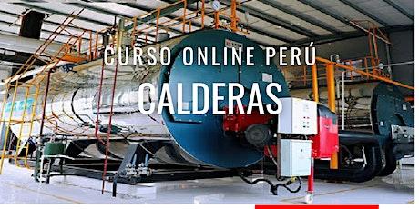 """Curso Gratuito Perú """"Calderas"""" entradas"""