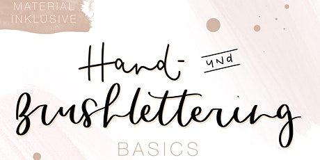 Hand- und Brushlettering Basics Workshop Tickets