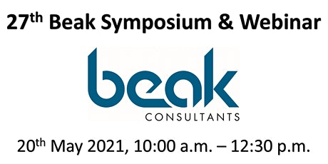27th Annual Beak Symposium (Online Webinar) billets