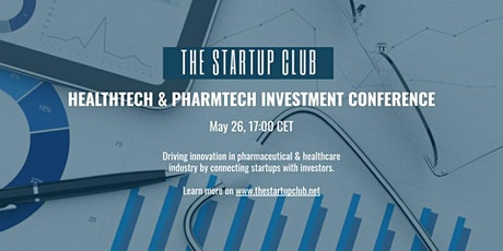 2nd Healthtech & Pharmtech Investment Conference tickets