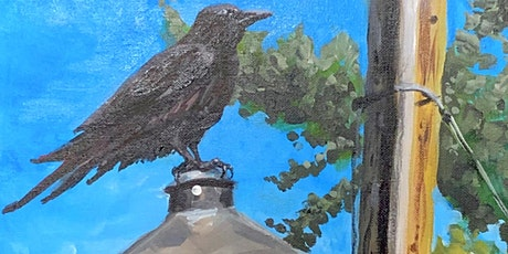Paint and Party - Crow on Lamp Post tickets