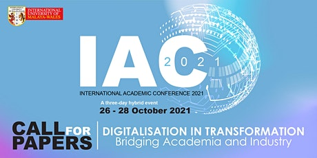 IUMW Academic Conference 2021 - Digitalisation in Transformation tickets