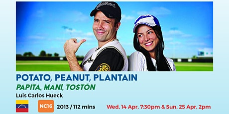 Potato, Peanut, Plantain tickets