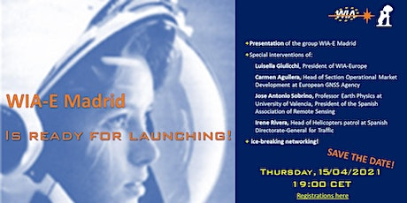 WIA-E Madrid - Madrid Local Group Launch Event tickets