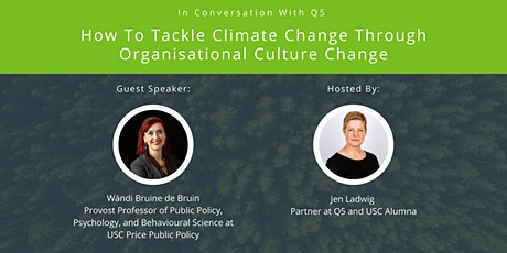 How To Tackle Climate Change Through Organisational Culture Change tickets