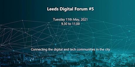 Leeds Digital Forum #5 tickets