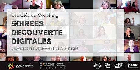 """Soirée découverte digitale # 18  """"Les Clés du Coaching"""" billets"""