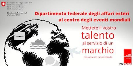 Dipartimento federale degli affari esteri al centro degli eventi mondiali biglietti