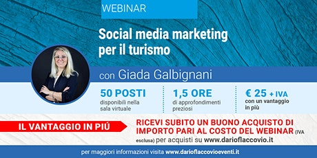WEBINAR : Social media marketing per il turismo biglietti