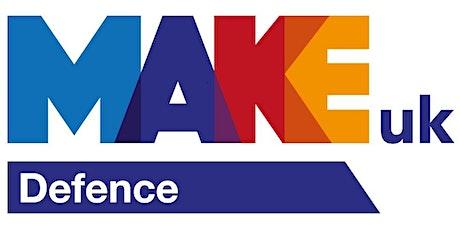 Make UK Defence  Meet the Buyer Event - Emerging Technologies bilhetes