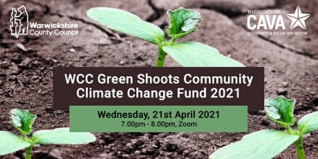 WCC Green Shoots Community Climate Change Fund 2021 tickets