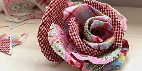 Green Week: Fabric flowers from Remnants and Scraps taster session tickets