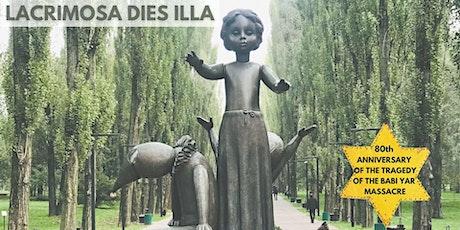 Lacrimosa Dies Illa - Film Premiere, featuring 'Requiem - the Holocaust' tickets