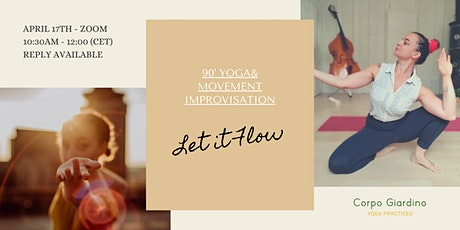 Yoga&Movement Improvisation  - Let it Flow tickets