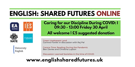 English: Shared Futures  - Caring for our Discipline During COVID tickets