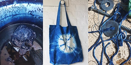 Make your own Shibori & Indigo Tote Bag, in Artist's Studio Garden tickets