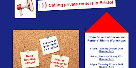 Shelter Renters' Rights Workshop tickets