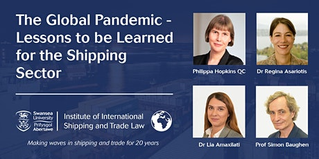 The Global Pandemic- Lessons to be Learned for the Shipping Sector tickets