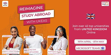 Reimagine Study Abroad with UKEAS tickets