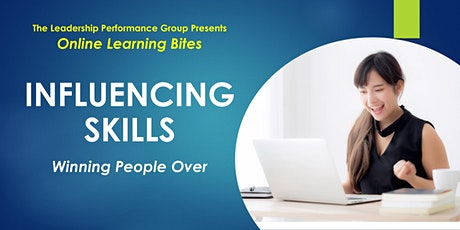 Winning People Over: Influencing Skills (Online - Run 17) tickets