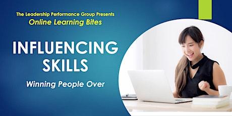Winning People Over: Influencing Skills (Online - Run 17) tickets