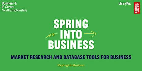 Market Research & Database Tools for Business tickets