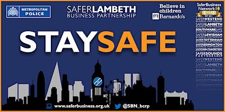 Stay Safe in Lambeth - Reopening Webinar tickets