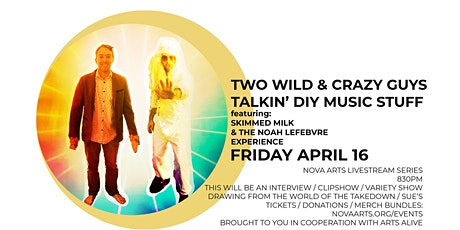 Two Wild & Crazy Guys Livestream Special tickets