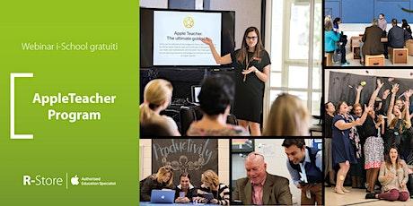 Apple Teacher: programma di alta formazione per docenti! biglietti