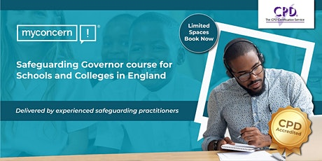 Safeguarding Governor Course for Schools and Colleges in England C#1 tickets