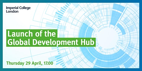 Launch of the Global Development Hub tickets