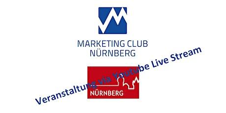 Nürnberg Kultur 2030 - nur im Youtube Live Stream - Link folgt per eMail Tickets