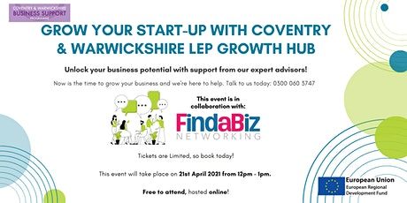 Grow Your Start-up Business with Support from CWLEP Growth Hub! tickets