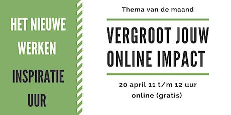 Vergroot jouw online impact tickets