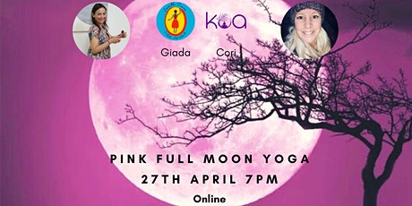 Pink Full Moon Yoga tickets