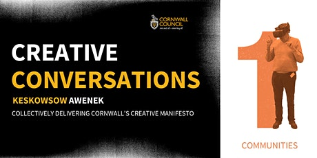How can culture and creativity re-energise our towns and communities? tickets