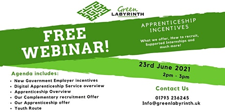 Confused about the New Apprenticeship Incentives?  Join the Discussion! tickets